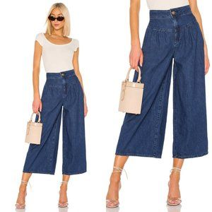 NWT Free People La Bomba Wide Leg Jean